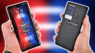 Vivo iQOO 8 Pro UNBOXING and Initial REVIEW - World's LARGEST Fingerprint Sensor