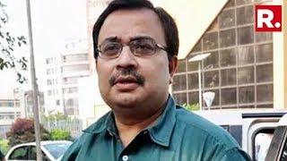 CBI Began Interrogating Former TMC MP Kunal Ghosh