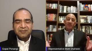 Interview with Matt Shaheen, State Representative, District 66