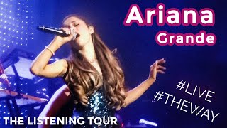 """Ariana Grande KILLLLED IT!!! (Performing """"The Way"""") -- Listening Session Tour 8/13/13"""