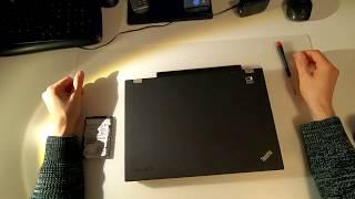 HDD   SSD   Festpallte am Laptop   Lenovo t420 tauschen