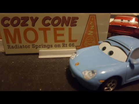 Disney Pixar Cars 2018 Corrected Sally (Radiator Springs Townie) W/ Bonus Collector Card Review