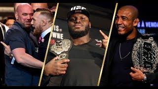 Дана Уайт о наказании Конора МакГрегора и его бое с Хабибом, Альдо хочет титул UFC, а Льюис нет