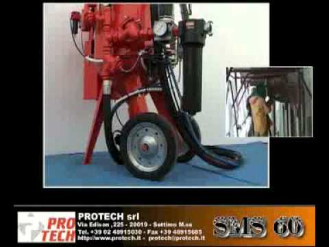 Protech macchine sabbiatrici modulari