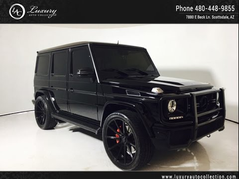 5977 | 2015 Mercedes Benz G Class G63 AMG® | 24 Savini Wheels | Designo Inter | Piano Wood | Scottsd