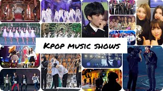 A Guide to kpop music shows