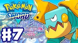 Drednaw  - (Pokémon) - Chewtle Evolves into Drednaw! - Pokemon Sword and Shield - Gameplay Walkthrough Part 7