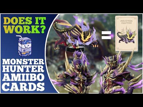 Do Monster Hunter Rise Amiibo Cards Work? | MHR Magnamalo Layered Armor + Amiibo Lottery