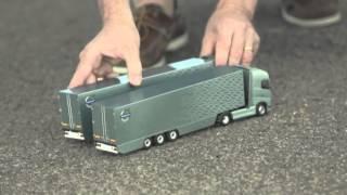 """Volvo Trucks """"The Split"""" with Action Star Jean Claude Van Damme."""