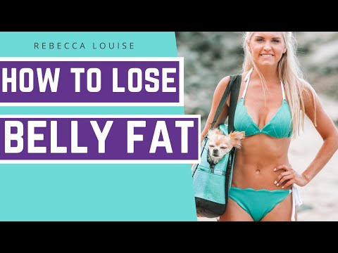 How To LOSE BELLY FAT: 5-Minute ABS | Rebecca Louise