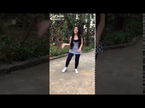 Cute girl dance tik tok