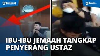 Ibu-ibu Jemaah Tangkap Penyerang Ustaz Chaniago, Petugas Masjid Sebut Jawaban Pelaku Melantur