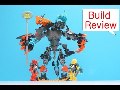 Vidéo LEGO Hero Factory 44021 : Splitter Beast contre Furno & Evo