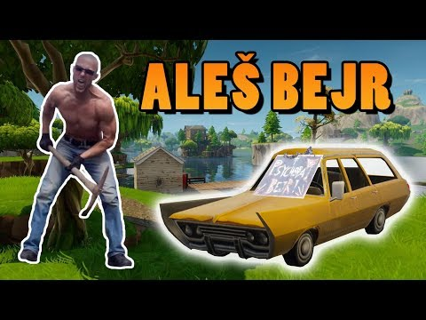 Aleš Bejr hraje Fortnite: Battle Royale