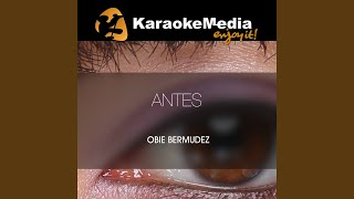 Antes    Version   In The Style Of Obie Bermudez