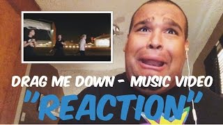 "One Direction - Drag Me Down Music Video ""REACTION"""