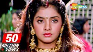 Sharukh Khan Celebrates Divya Bharti's Birthday Scene From Deewana - Rishi Kapoor - 90's Movie