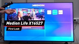 Medion Life X16527: 4K-Fernseher bei Aldi Süd