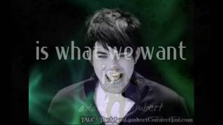 [HD] Adam Lambert - Want