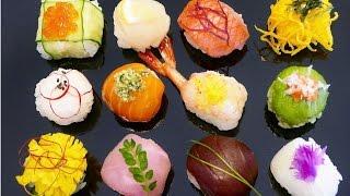 Temari Sushi (Sushi Balls)