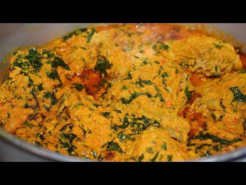 EASY EGUSI SOUP RECIPE