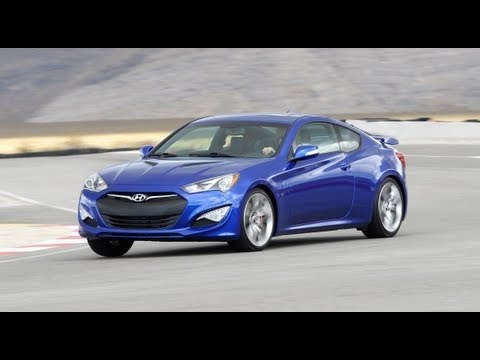 Фото к видео: Hyundai Genesis Coupe 3.8 Track: Мечта настоящего автолюбителя!