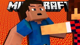 ТОЛКНУЛ В ЛАВУ - LUCKY ISLAND (Minecraft Mini-Game)