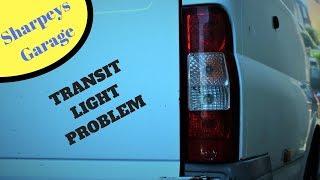 Ford Transit Fault On Rear Lights