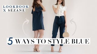 How To Style Blue X Sezane | Chic Outfit Ideas