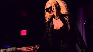 Pearl performing 20 Fingers at Drag Carnage: Single Ladies edition on 2/13/14