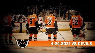 Devils vs. Phantoms | Apr. 24, 2021