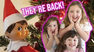 THE ELF ON THE SHELF IS BACK Count Down to Christmas 2019 Fun Family 3