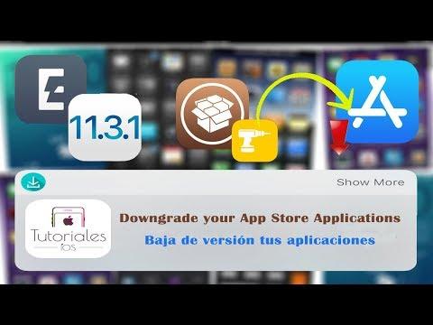 Cómo descargar versiones antiguas de nuestras aplicaciones (Downgrade)