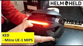 KED - Mitro UE-1 Mips - vorgestellt - powered by helmheld.de