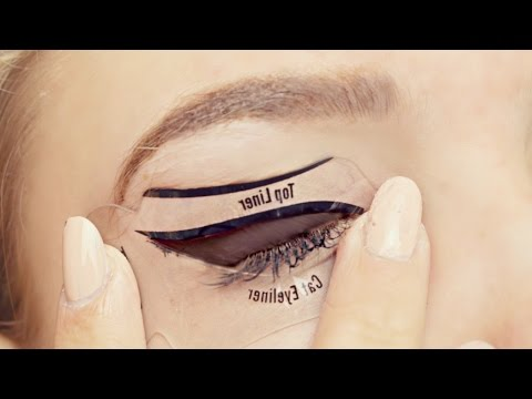 Testing Cat Eyeliner Stencils- Do They Work?
