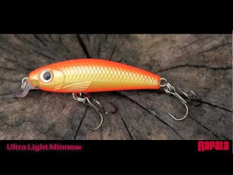 Воблер Rapala Ultra Light Minnow ULM04-RT фото №1