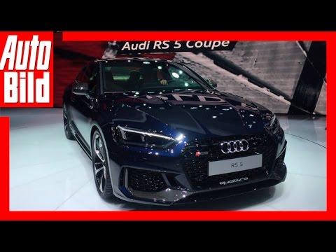 Audi RS 5 Coupé (Genf 2017) Details