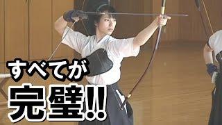 外国人衝撃!「美しすぎる!」女子学生の弓道の凄さに海外感動!日本の文化に羨望の声が止まらない!その理由とは?海外の反応