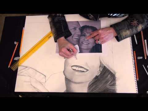 How to Draw With Charcoal Using the Grid Method