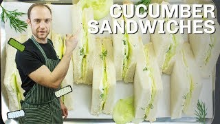High Society Cucumber Sandwiches – The Dos And Don'ts | Ready In 5 Minutes!