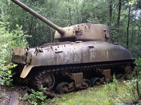 Free WWII Tank? Abandoned World War II Tank Wrecks Part 1