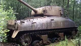 Free WWII Tank? Abandoned World War II Tank Wrecks Part 1