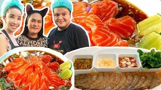 2เมนูใหม่ After Yum 🐟 ยำปลาแซลมอน 🦐 กุ้งแช่น้ำปลา 😒 จะสมการรอคอยไหม หรือก็แค่..พอกินได้