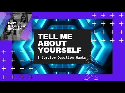 This video will teach you how to answer the question: Tell Me About Yourself? #English #ESL #Business