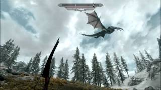 Skyrim Mods #12 - Mega Dragons Giant Dragons (HD)