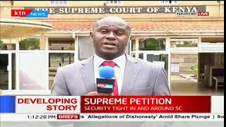 Reasons why Chief Justice Maraga requested the presidential petition be heard at 7PM