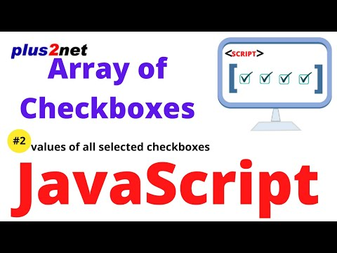 Reading  a group of checkbox values in JavaScript function and displaying the selected values