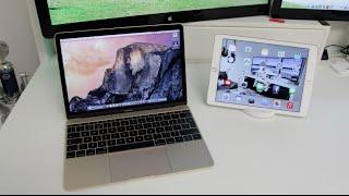 MacBook VS iPad Air 2 Comparison!