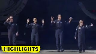 Watch the SpaceX Inspiration4 Crew Send Off and Board Teslas