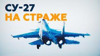 Су-27 отогнал истребитель НАТО от самолёта Шойгу над Балтикой